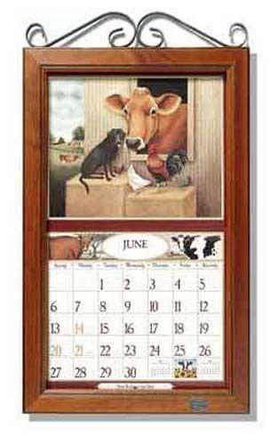 Calendar Wooden Frame : Flip frame versus quot normal lang legacy calendars